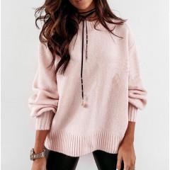 Γυναικείο πουλόβερ 2729 ροζ