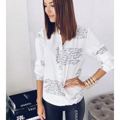 Γυναικείο πουκάμισο 7123 λευκό
