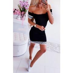 Γυναικείο φόρεμα 2130 μαύρο