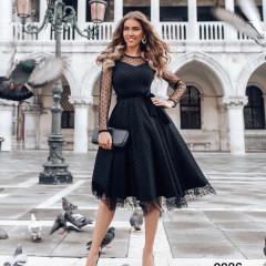 Γυναικείο φόρεμα με τούλι 3832