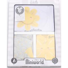 Βρεφικό σετ για νεογέννητο 5 τμχ. 50515416 κίτρινο