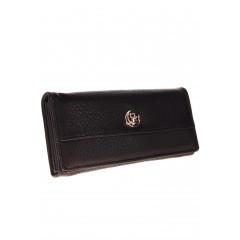 Γυναικείο πορτοφόλι A638 μαύρο