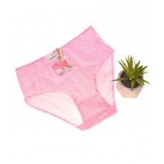 Γυναικείο ψηλόμεσο σλιπ 11-140 ανοιχτό ροζ