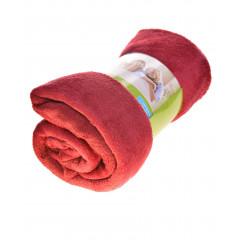 Απαλή κουβέρτα  MO048682 μπορντό