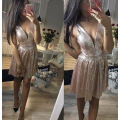 Γυναικείο φόρεμα με παγιέτες 2927