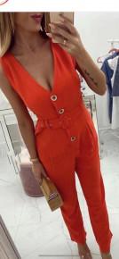 Γυναικεία ολόσωμη φόρμα 1939 κόκκινη