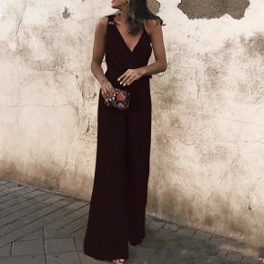 Γυναικεία ολόσωμη φόρμα 88332 μαύρη