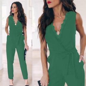 Γυναικεία ολόσωμη φόρμα 3673 πράσινη