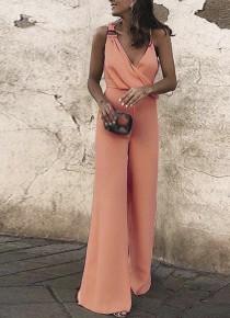 Γυναικεία ολόσωμη φόρμα 88332 ροζ