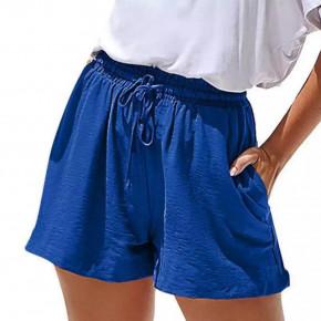 Γυναικείο χαλαρό σορτσάκι 14891 μπλε