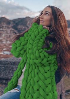 Γυναικεία ζακέτα  150986 πράσινη