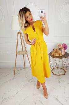 Γυναικείο φόρεμα 3503 κίτρινο