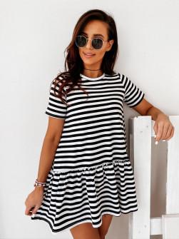 Γυναικείο μπλουζοφόρεμα 2315 μαύρο