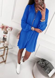 Γυναικείο μπλουζοφόρεμα 5021 μπλε