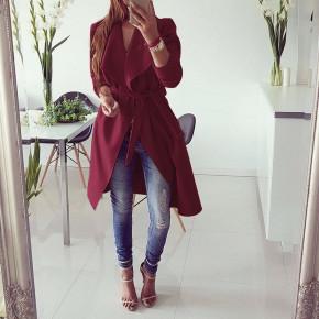 Γυναικείο παλτό 1220 μπορντό
