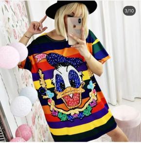 Γυναικείο μπλουζοφόρεμα 232002