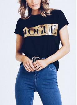 Γυναικείο κοντομάνικο μπλουζάκι 730506 Vogue