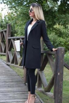 Γυναικείο σετ σακάκι και παντελόνι 3311 μαύρο