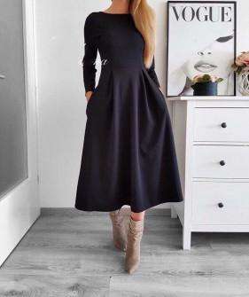 Γυναικείο φόρεμα 2241 μαύρο