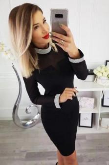 Γυναικείο φόρεμα 3220 μαύρο