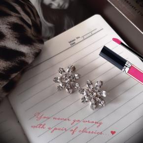 Σκουλαρίκια Candy Flower Crystal Classic