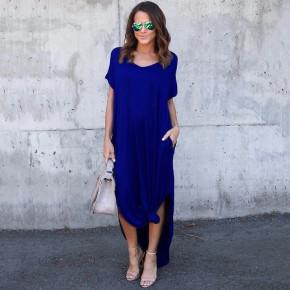 Γυναικείο φόρεμα 7503 μπλε