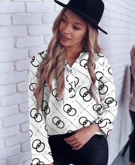 Γυναικείο πουκάμισο 200804 άσπρο
