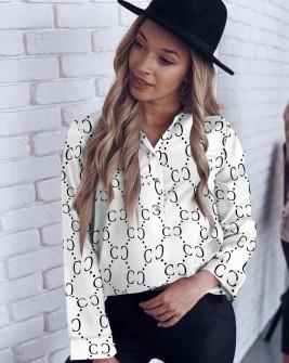 Γυναικείο πουκάμισο 200805 άσπρο