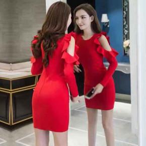 Γυναικείο φόρεμα 2007 κόκκινο