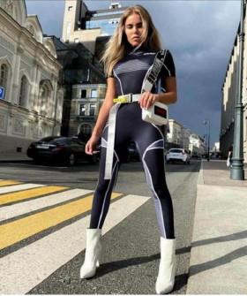 Γυναικεία αθλητική ολόσωμη φόρμα 2259