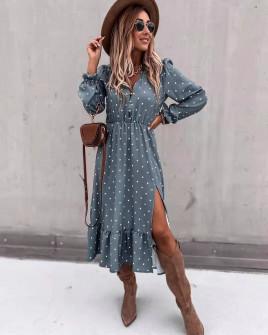 Γυναικείο εντυπωσιακό φόρεμα 2246013