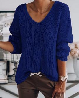 Γυναικείο πουλόβερ 888 μπλε