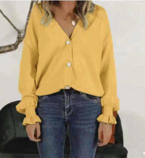 Γυναικείο πουκάμισο 1904 κίτρινο