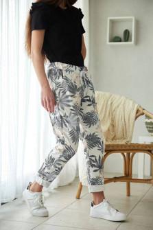 Γυναικείο παντελόνι φόρμας 8115 μαύρο