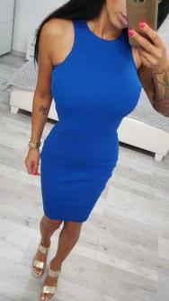 Γυναικείο φόρεμα 2623 μπλε