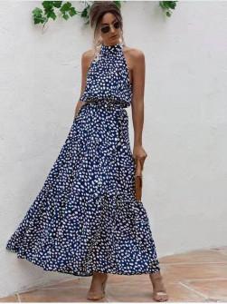 Γυναικείο μακρύ φόρεμα 625701