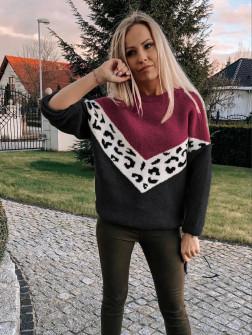 Γυναικείο πουλόβερ 71006 μαύρο