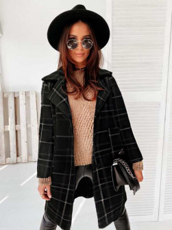 Γυναικείο παλτό 7090 μαύρο