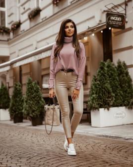Γυναικεία μπλούζα ζιβάγκο 14216 ροζ