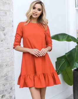 Γυναικείο φόρεμα 3997 κόκκινο