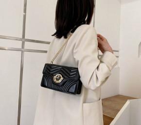 Γυναικεία τσάντα B283 μαύρη