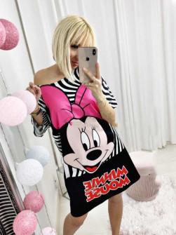 Γυναικείο μπλουζοφόρεμα 232009