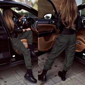 Γυναικείο αθλητικό παντελόνι p079 μαύρο