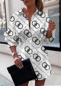 Γυναικεία πουκαμίσα 398305 άσπρη