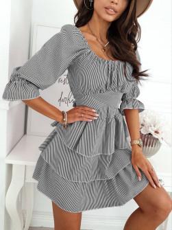 Γυναικείο φόρεμα πτι καρό  21308