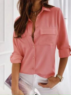Γυναικείο πουκάμισο 5031 κοραλί