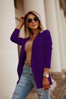 Γυναικείο σακάκι 5018 μωβ
