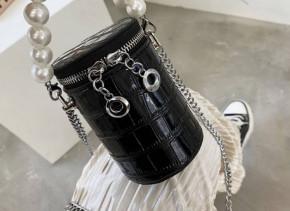 Γυναικεία εντυπωσιακή τσάντα B492 μαύρο