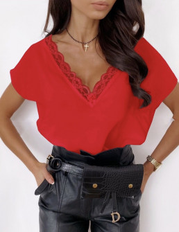 Γυναικεία μπλούζα 3381 κόκκινη