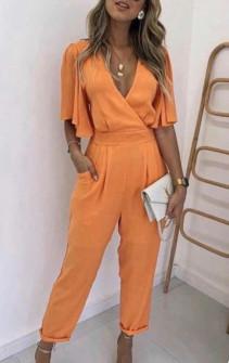 Γυναικεία ολόσωμη φόρμα 1965 πορτοκαλί